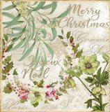 Merry Christmas I Art Print