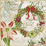 Merry Christmas II Art Print