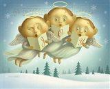 Angel Choir Art Print