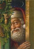 Santa- 1 Art Print