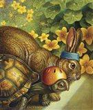 Tortoise And Hare Art Print
