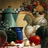 Country Vegetables Art Print