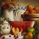 Country Fruit Art Print
