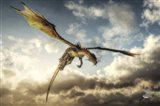 Flying Dragon Death From Above Art Print