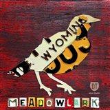 Wyoming Meadowlark Art Print