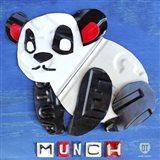 Munch The Panda License Plate Art Art Print