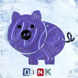 Oink The Pig Art Print