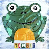 Ribbit The Frog Art Print