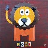 Roar The Lion Art Print