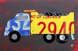 Dump Truck Art Print