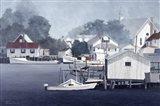 Summer At Smith Island Art Print