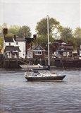 Harbor Edge Art Print