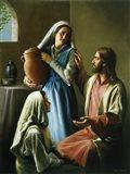 Mary And Martha Art Print