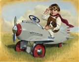 1941 Steelcraft Pursuit Plane Art Print