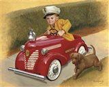 1937 Garton Ford Fire Chief Art Print
