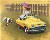 1948 Murray Roadmaster Art Print