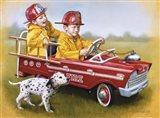1959 Murray Fire Truck Art Print