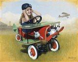 1926 Steelcraft By-Plane Art Print