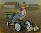 Murray Diesel Tractor Art Print