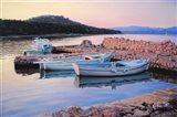 Dalmatian Island Evening Art Print