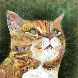 Ginger Tabby Art Print