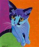 Kitten Blue Art Print