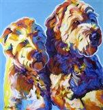Max and Maggie Art Print