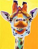 Giraffe No. 3 Art Print