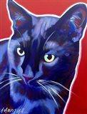 Cat Caleb Art Print