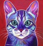 Cat - Surprise Art Print