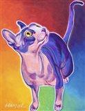 Cat - Bree Art Print