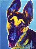 German Shepherd - Ajax Art Print