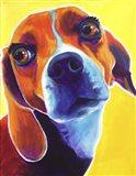 Beagle - Marcie Art Print