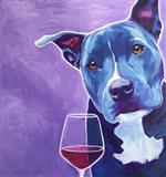 Shakti With Wine Art Print