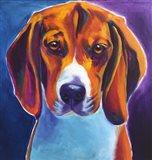 Beagle - Chester Art Print