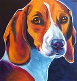 Beagle - Lucy May Art Print
