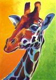 Giraffe - Summer Fling Art Print