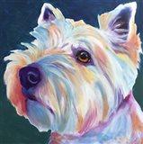 Westie - Chispy 3 Art Print