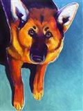 German Shepherd - Kim Art Print