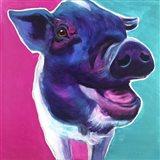 Pig - Sophie Art Print