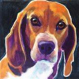 Beagle - Woody Art Print