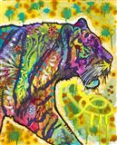 Psychedelic Tiger Art Print