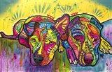 Dofka And Stella Art Print
