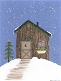 Brown Outhouse Art Print