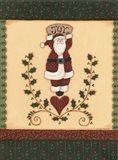 Christmas Quilts II Art Print
