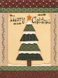 Christmas Quilts IV Art Print