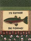 Fishing II Art Print