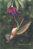 Delightful Fushia Art Print