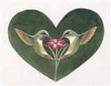 Lovey Dovey LG Art Print