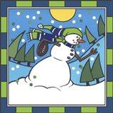 Coalman Football 3 Art Print